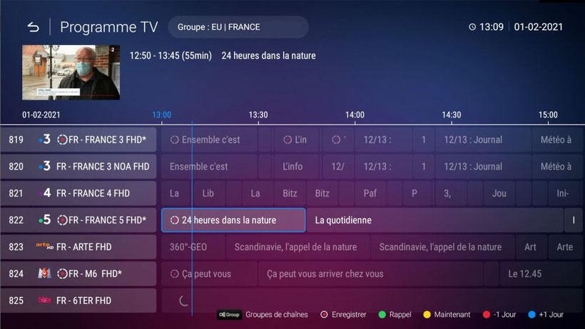 Formuler Z+ Neo interface MyTVOnline 2