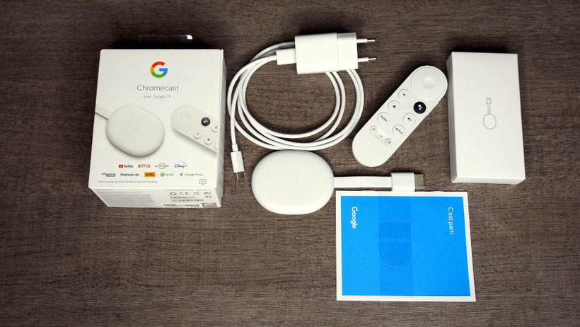 Google Chromecast avec Google TV Packaging2