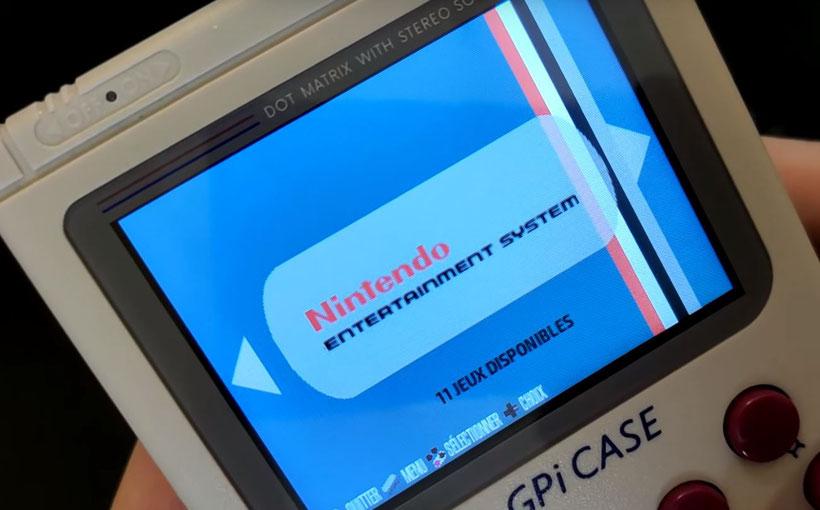 GPi Case Raspberry Pi 0 w Recalbox