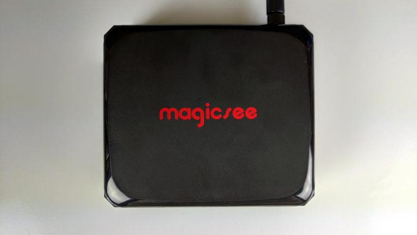 Magicsee N5 Plus du dessus