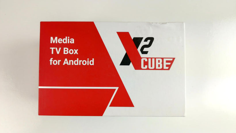 X2 Cube Box TV Android