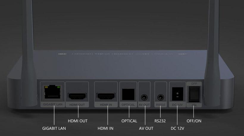 Zidoo Z9X connectique(2)