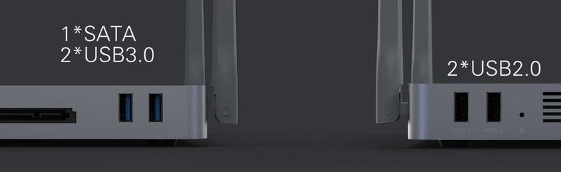 Zidoo Z9X connectique