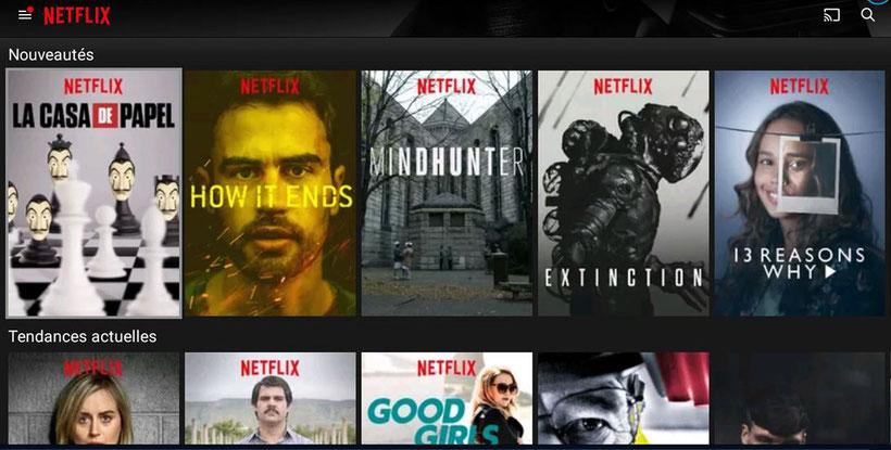 Netflix sur Leelbox