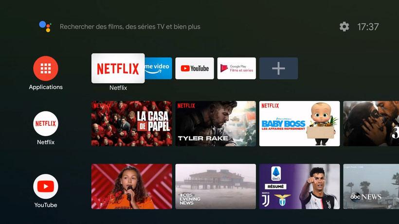 Xiaomi Mi TV Stick interface android tv 9