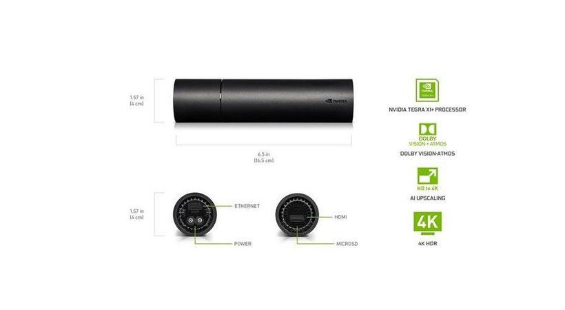 Nvidia Shield TV Stick caractéristiques