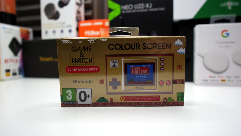 Nintendo Game And Watch packaging
