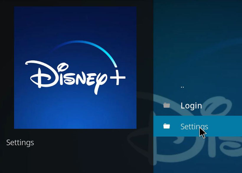 Installer Disney+ sur Kodi