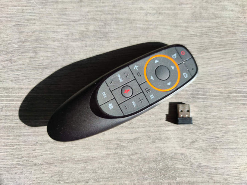 Beelink GS-King X (télécommande)