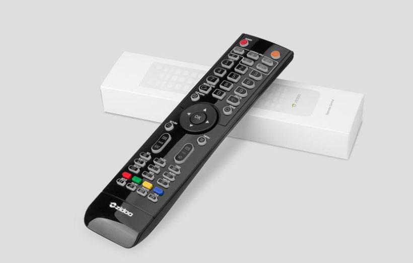 Zidoo Z9X télécommande
