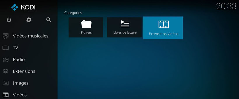 Kodi addon chaines tv france