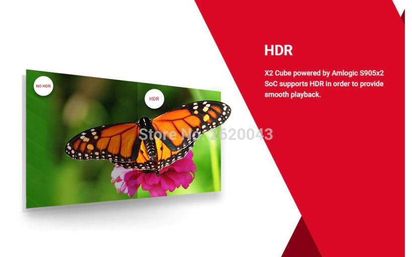 X2 Cube Box TV 4K HDR