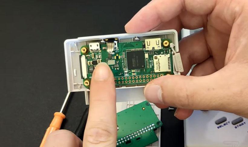 GPi Case Raspberry Pi Recalbox