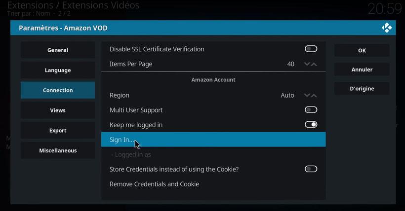 Kodi Amazon Prime Video VOD Addon Sandmann79