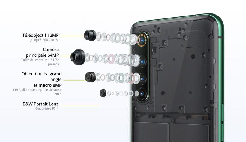 Realme X50 Pro 5G 4 caméras arrière