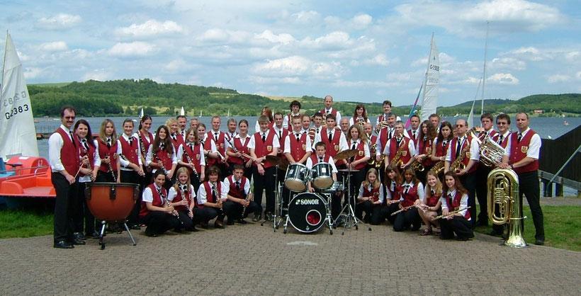 Das Orchester Im Jahre 2004 am Bostalsee