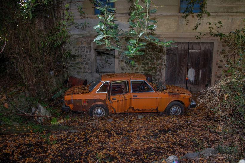 Rost - vergessenes Auto