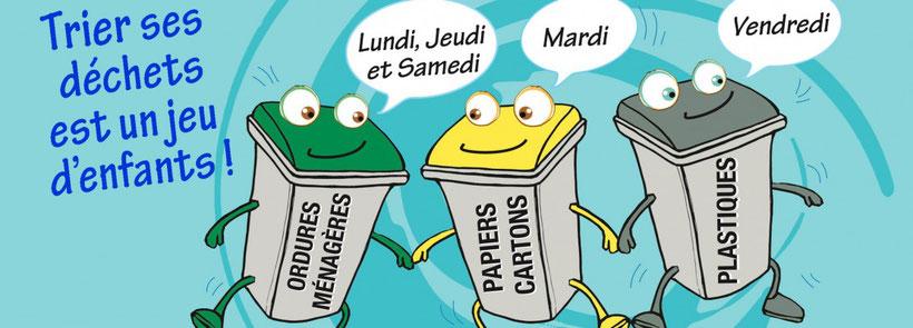 Ramassage ordures ménagères Le Brusc - Six-Fours-les-plages