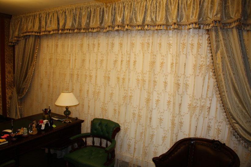 шторы для кабинета на заказ в Пушкино Ивантеевке Королеве Щелково Москве Балашихе