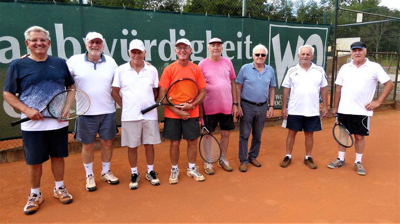 v.l.: Peter Becker,Wolfgang Diehl,Günter Hammer,Reinhold Mauterer,Heinz Wittmann,Albert Speck, Anton Krebs, Rüdiger Nassall