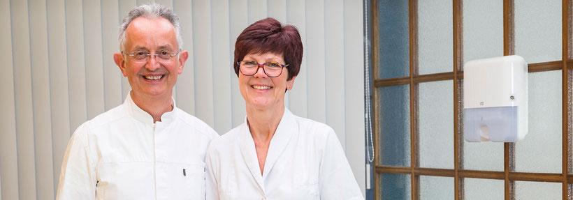 Ein erfahrenes Team: Dr. René Sender und Martina Sender stellen sich vor. Teamarbeit für Ihre Zähne.
