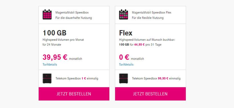 Telekom MagentaMobil Speedbox