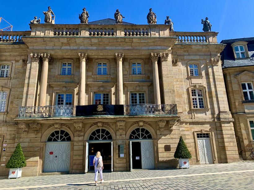 das Opernhaus Bayreuth ist Weltkulturerbe