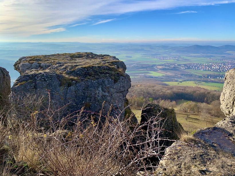 Imposanter Blick vom Staffelberg 539 Meter über null