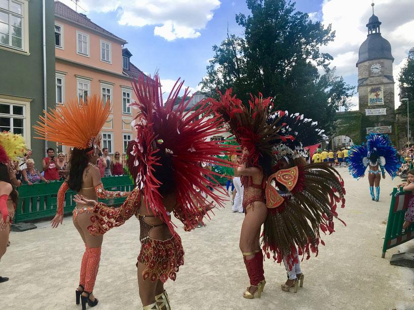 größtes Samba Festival außerhalb Brasiliens lockt jährlich tausende Besucher aus aller Welt an