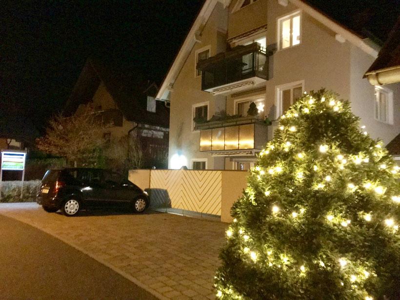 auch in der Weihnachtszeit ist Schwabthal wunderschön und ein tolles Urlaubsziel