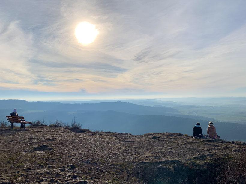 Hochofen auf dem Staffelberg mit herrlichen Ausblick
