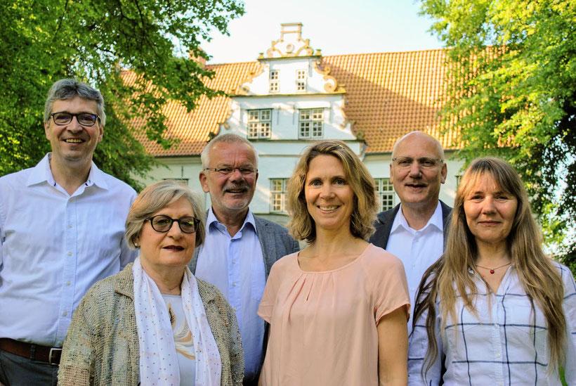 EE.SH Team v.l.n.r.: Matthias Hüppauff,  Heike Kaiser, Holger Arntzen, Sina Clorius, Axel Wiese, Katja Rosenburg