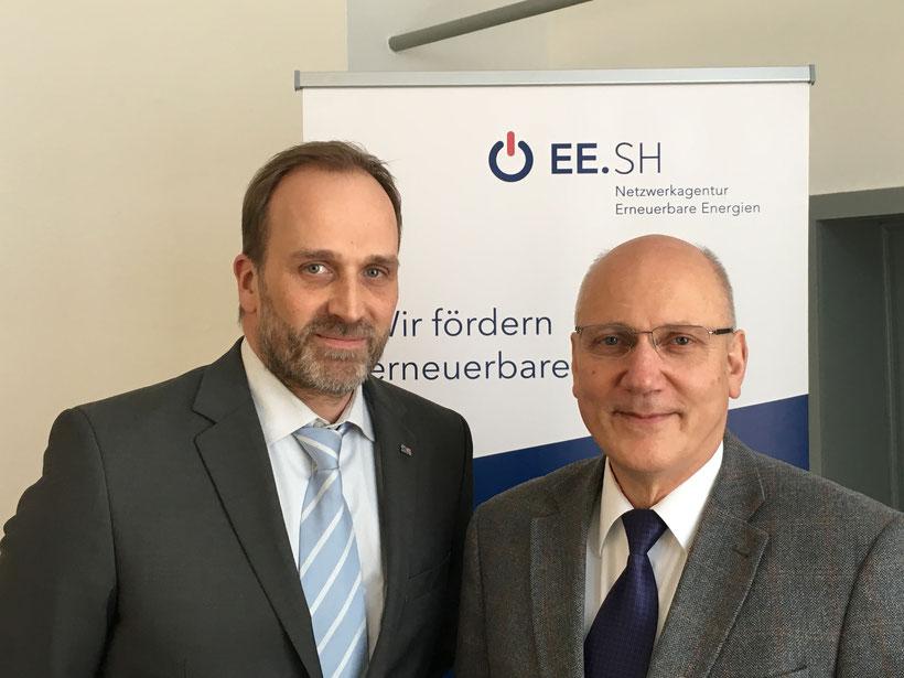 EE.SH Team Mitglieder: Casten Delfs und Axel Wiese