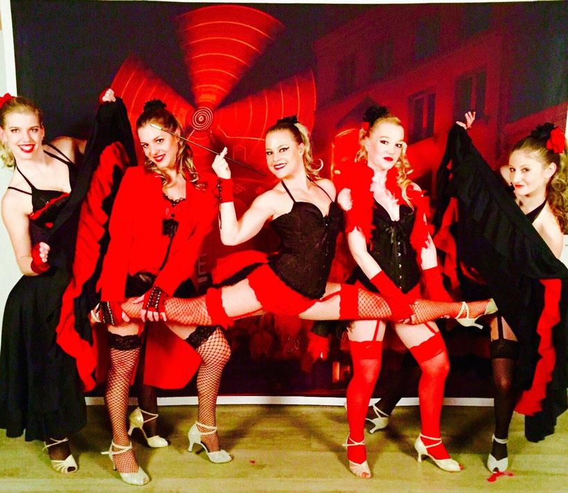 Burlesque Tanzshow für Firma Würth