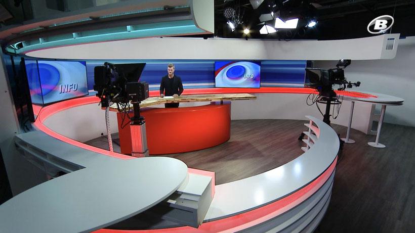 TV Moderator Thomas Odermatt moderiert News und Wirtschaft auf Tele Bielingue, hier buchen