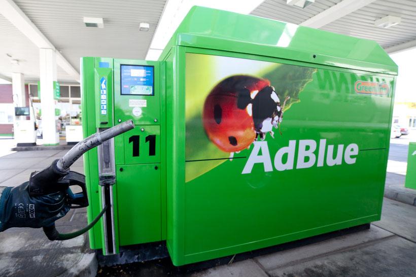 Adblue Zapfäule bei Greenline