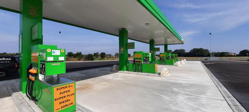 Greenline Tankstelle Unterkaka