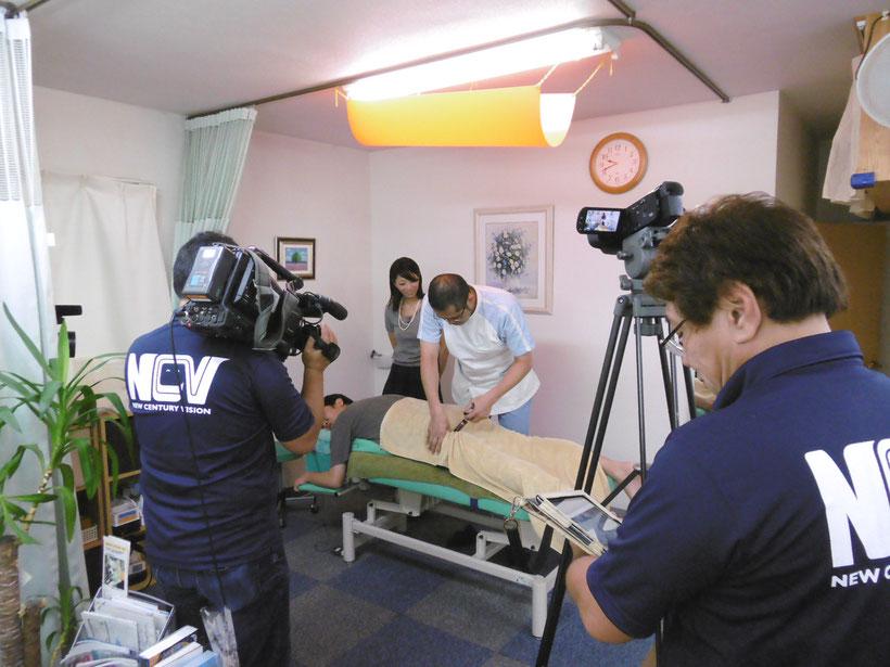 ケーブルTV NCV 取材 新潟 新潟市 整体 新潟整体工房