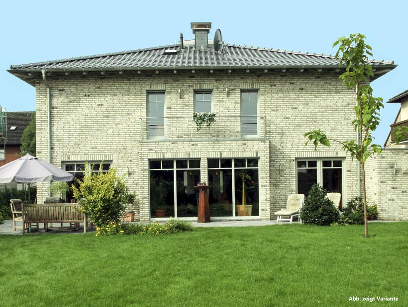 Stadvilla mit Ankleide, Gästezimmer und Dusch/WC, Einfamilienhaus als Massivhaus, Fertighaus günstig bauen, Massivhäuser