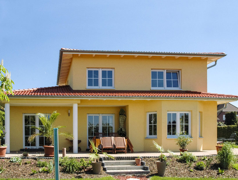 Einfamilienhaus Villa Sevilla, Mediterranes Einfamilienhaus, Haus im mediterranen Stil