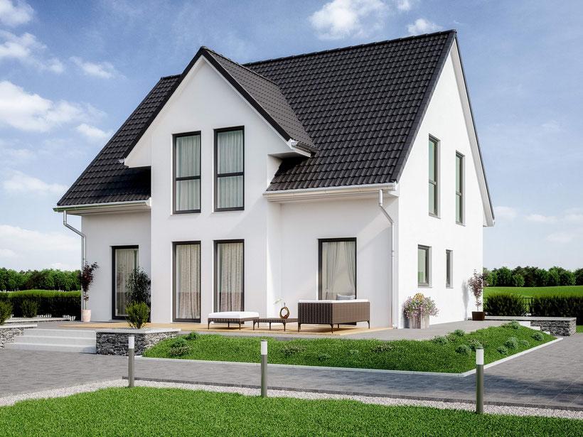 Aktionshaus, Friesenhaus, Fertighaus günstig bauen, Fertighaus, Fertighaus Preise, preiswerte Häuser, Aktionshaus Fehmarn
