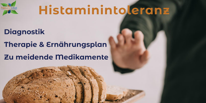 Histaminintolleranz - Diagnostik / Therapie und Ernährungsplan / Zu meidende Medikamente