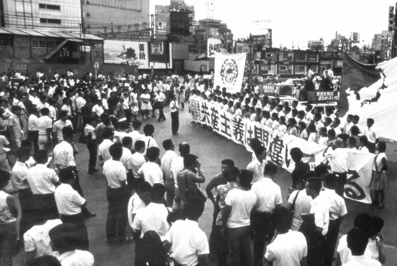 デモ活動(1969年)