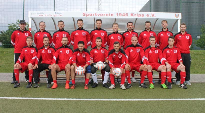SV Kripp 2. Mannschaft 2015-16