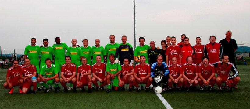 Die Weisweiler Elf bezwang eine Kripper Auswahlmannschaft mit 5:0.