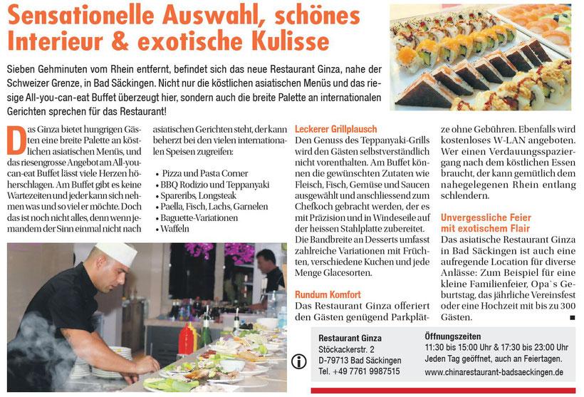 Zeitung Basel Express 28.9.2017