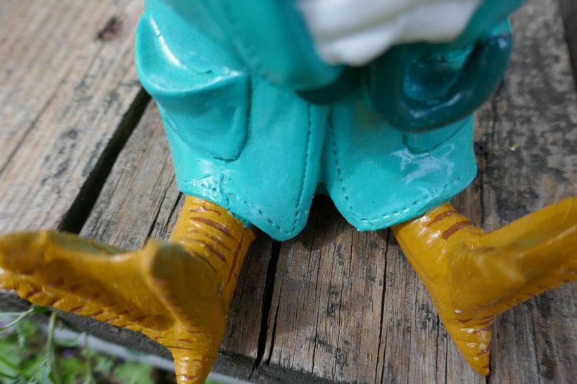 statue de jardin repeinte : univers emylila