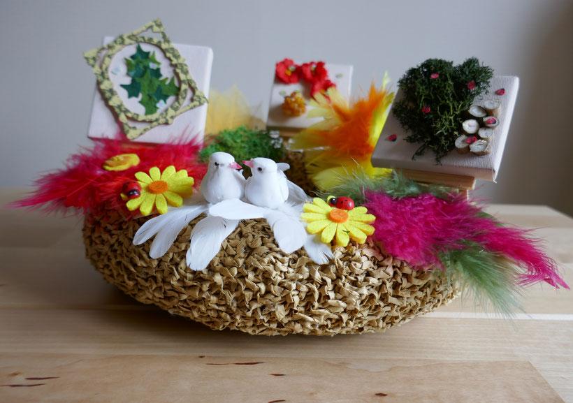 DIY: couronne champêtre