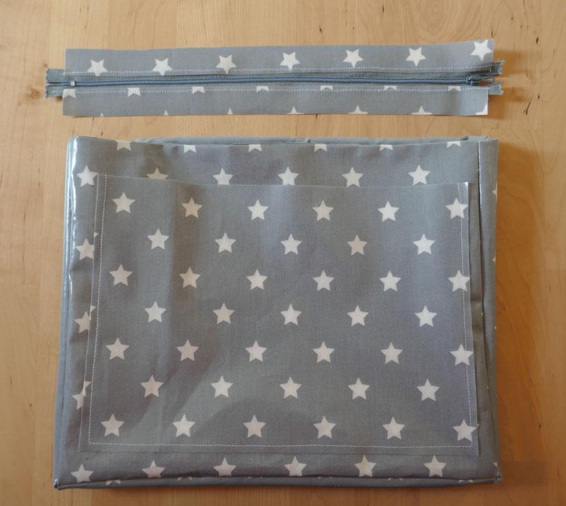 sac toile enduite étoile : univers emylila