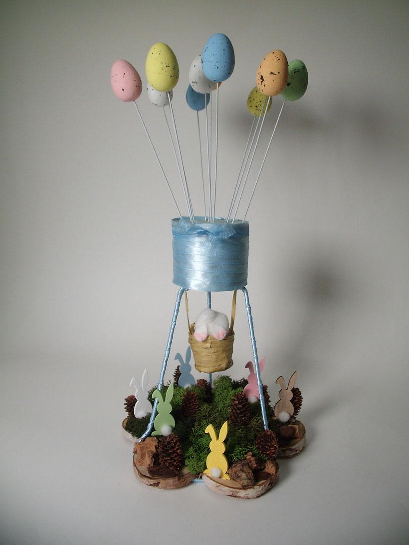 montgolfière d'avril pâques : univers emylila